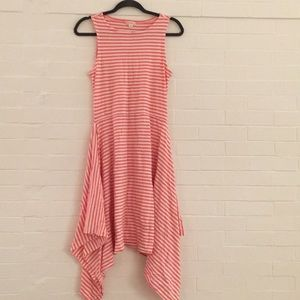 J.Crew crewcuts stripe asymmetrical dress